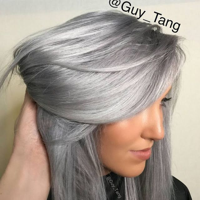 56 Ways To Cinch Rose Silver and Gold Hair | Haarfarben .