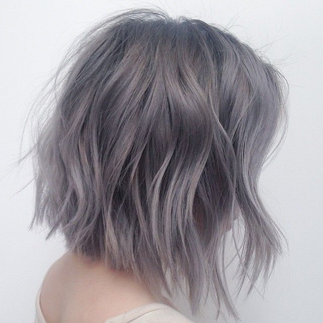 Gray is the New Black... Haircolor by @mizzchoi Haircut/Style .