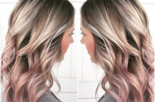56 Ways To Cinch Rose Silver and Gold Hair | Haarfarben, Roségold .