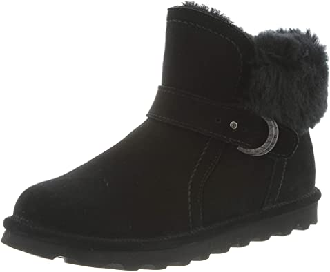 Amazon.com | BEARPAW Women's Classic Ankle Boot | Sho