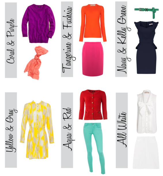 Color Palettes for Spring 2012. Color and interesting combos are .