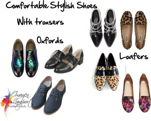 How to Combine Comfortable Shoes with Your Dressier Outfi