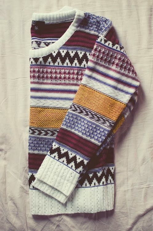 Comfy Casual Aztec Sweater | Fashion, Style, Cloth