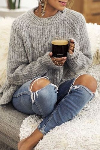 Nice 45 Comfy Cool Winter Outfit Ideas | Casual winter outfits .