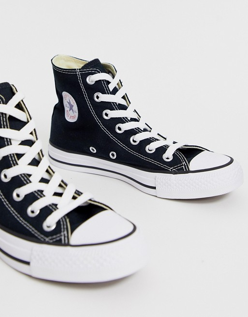 Converse Chuck Taylor All Star Hi black sneakers | AS