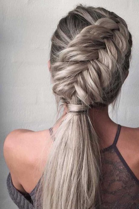 50+ Cool Braids That Are Actually Easy | Braided hairstyles easy .