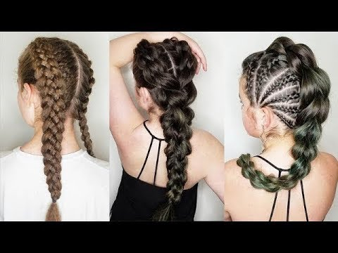 10 Amazing Braided Hairstyles Tutorials ❀ Cool Braids That Are .