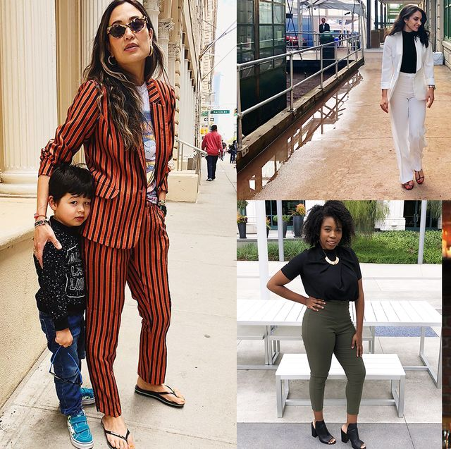 18 Women on Their Go-To Work Outfits During the Summ