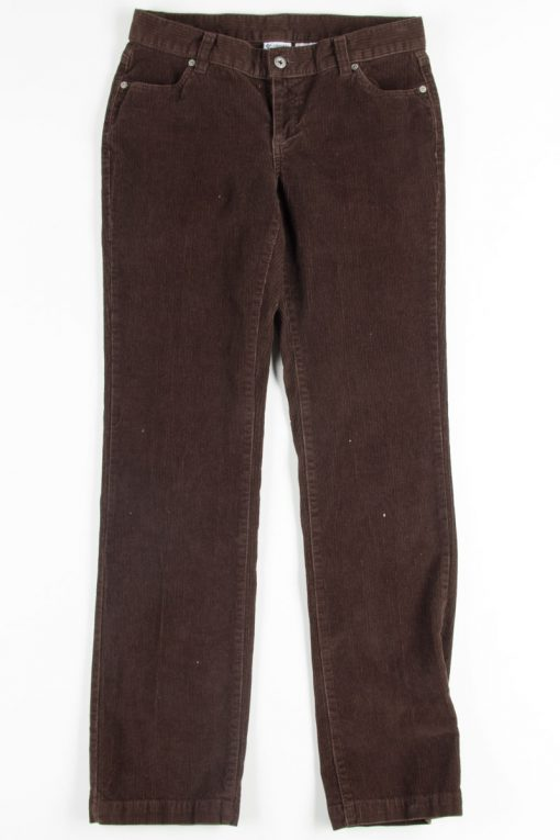 Brown Columbia Corduroy Pants - Ragsto