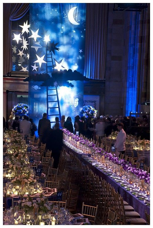25 Creative Theme Ideas for Gala Dinner | Starry night prom, Gala .