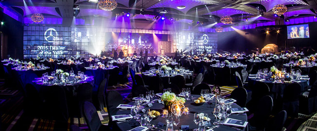 7 ideas for seamlessly turning your conference into a gala dinn