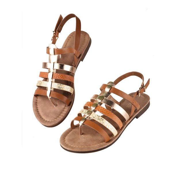 Sexy Dance - Sexy Dance Flat Sandals for Women Sequin Strappy Flat .