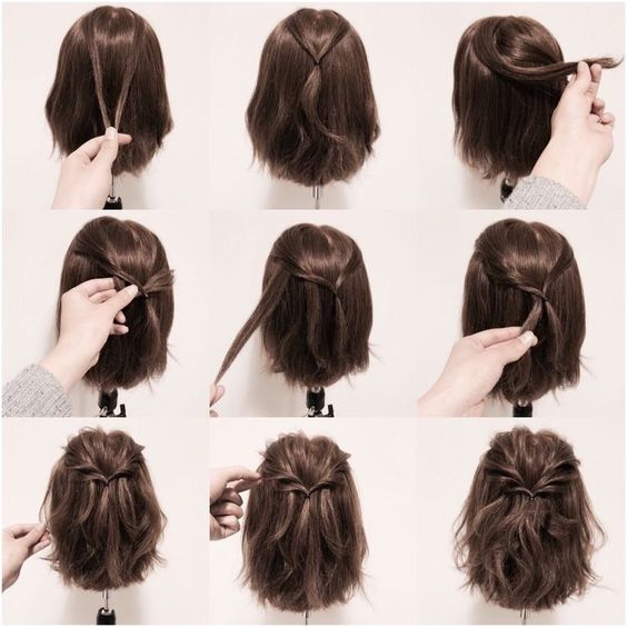 15 Hair Tutorials for Bobs - Pretty Desig