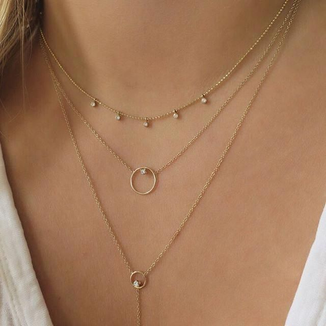 Cute layer necklace | Fashion necklace, Layered necklaces .