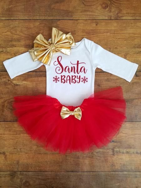 Dress your little princess up for the holidays in this super cute .