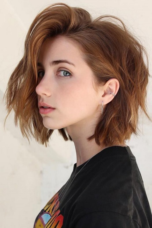 10+ Cute Short Hairstyles Ideas For Women You Can Try #Hair .