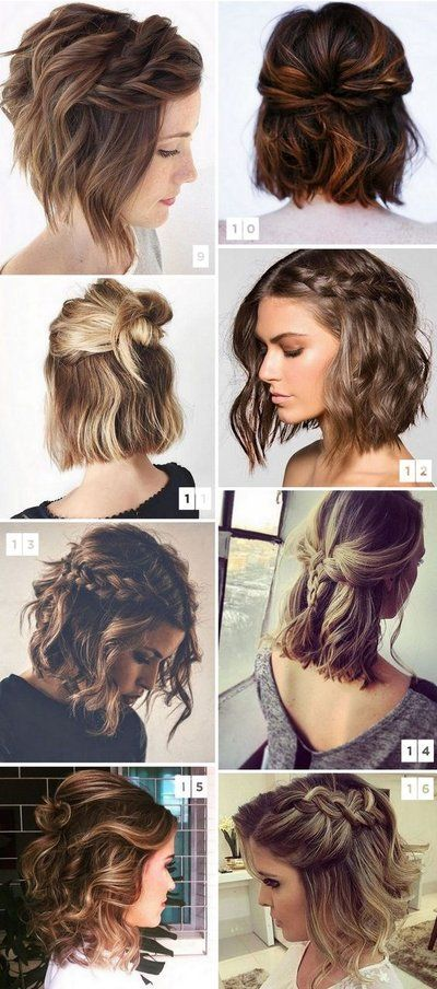 38 Easy and Cute Short Hairstyles For Round Face – Page 27 .