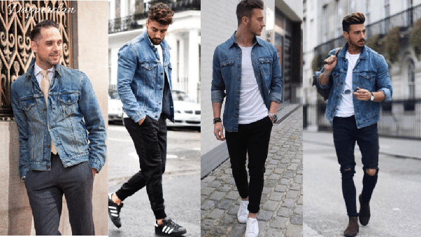 What goes well with men's denim shirts? - Quo