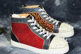 Luxury Brand Designer Shoes Mens Fashion Red bottoms For Mens Lace .
