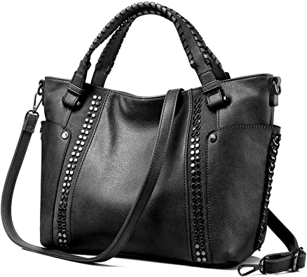 Amazon.com: Tote Bag for Women Large Faux Leather Purse and .
