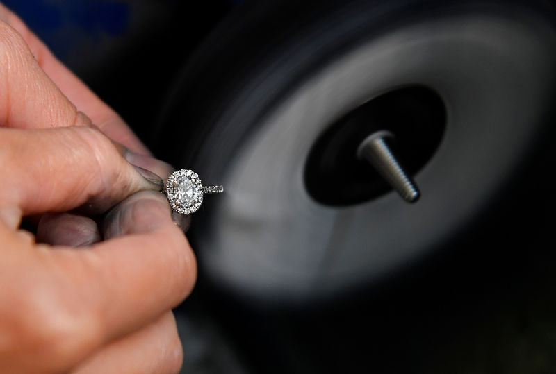 Hammers, chisels and a microscope: inside a diamond jewelery .