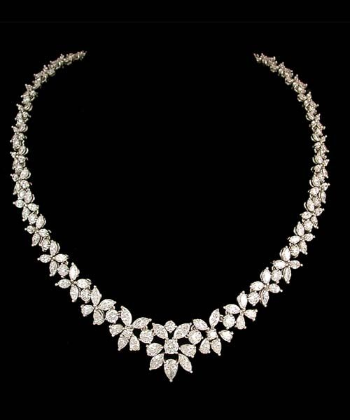 Gorgeous wedding diamond necklace … | Diamond, Diamond necklace .