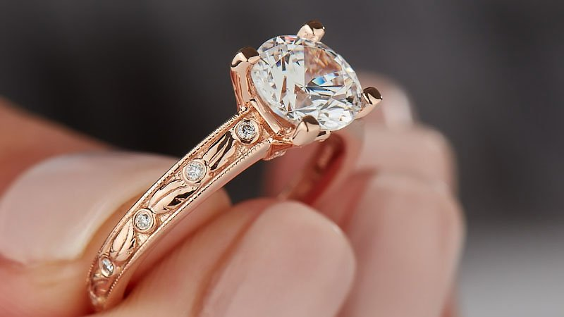 10 Beautiful Rose Gold Engagement Rings for 2020 - The Trend Spott