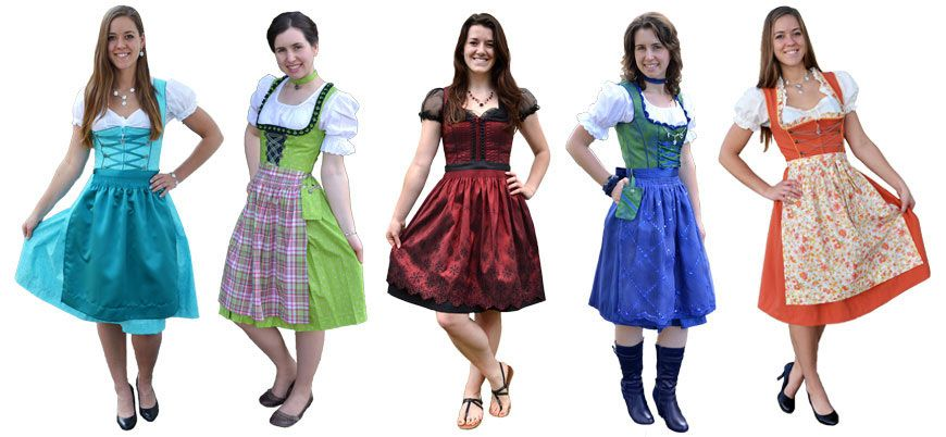 Beautiful and Different Style Dirndls | Dirndl dress oktoberfest .