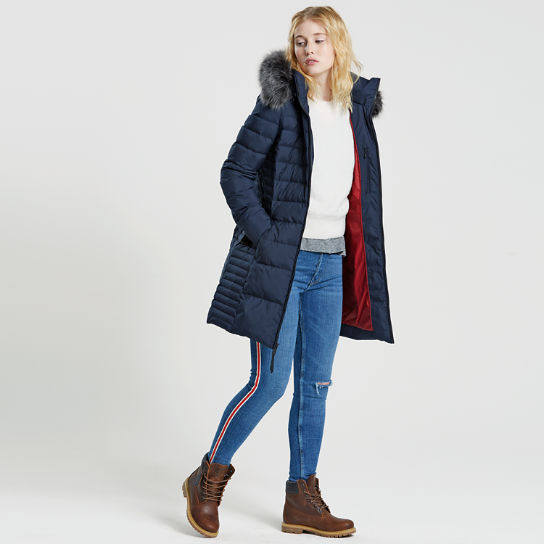 Timberland | Women's Long Quilted Down Jack