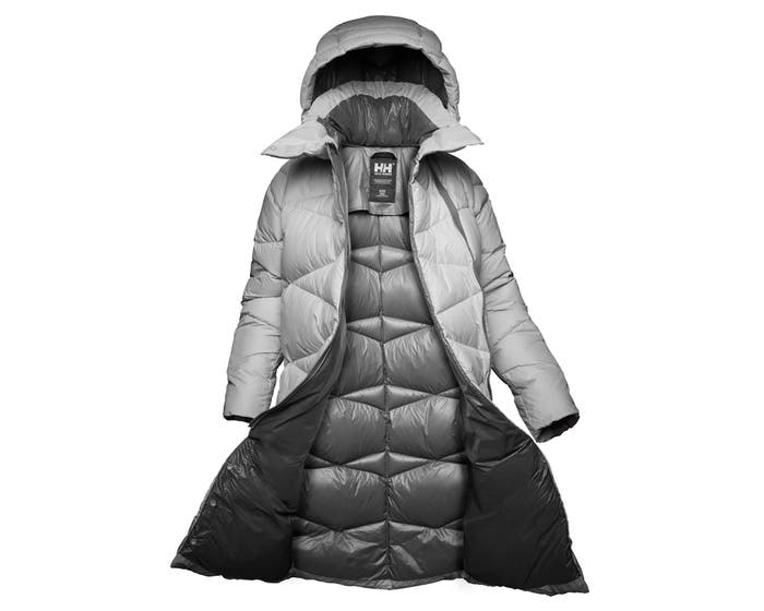 W Tundra Down Coat | Womens Long Light Down Coat | HH