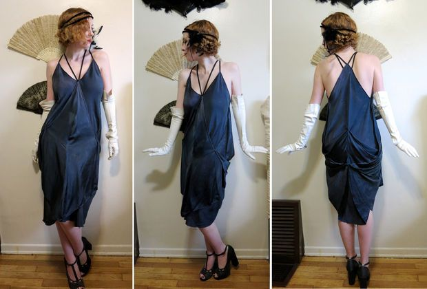 Turn 3 Silk Scarves and 3 Seams Into a 1920s Style Handkerchief .