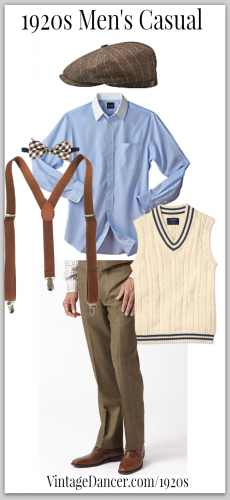 7 Easy 1920s Men's Costumes Ideas | 1920s mens costume, 1920s mens .