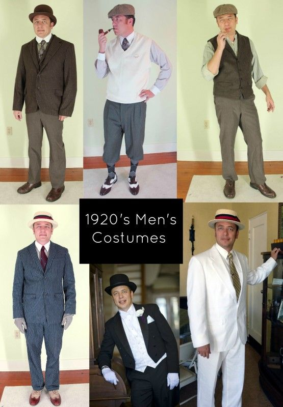 1920's Fashion for Men: A Complete Suit Guide | 1920s mens costume .