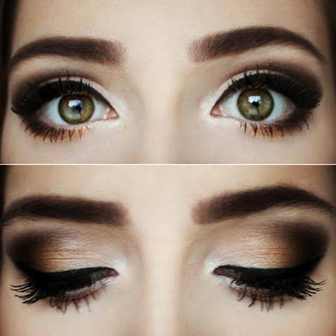 15 Easy Makeup Looks in Under 10 Minutes | Eye makeup, Fall makeup .