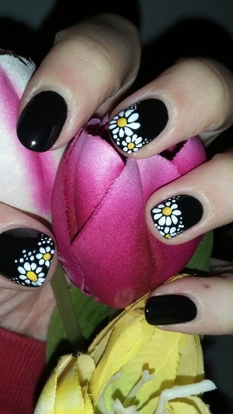 Dark Spring | Awesome Spring Nails Design for Short Nails | Easy .