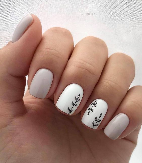 Easy Spring Nails & Spring Nail Art Designs To Try In 2020: Simple .