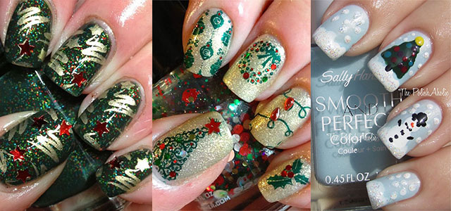 50 Easy Christmas Tree Nail Art Designs, Ideas & Stickers 2015 .