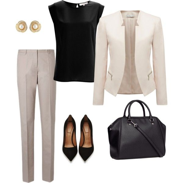 19 Classic and Elegant Work Outfit Ideas | Stylish work outfits .