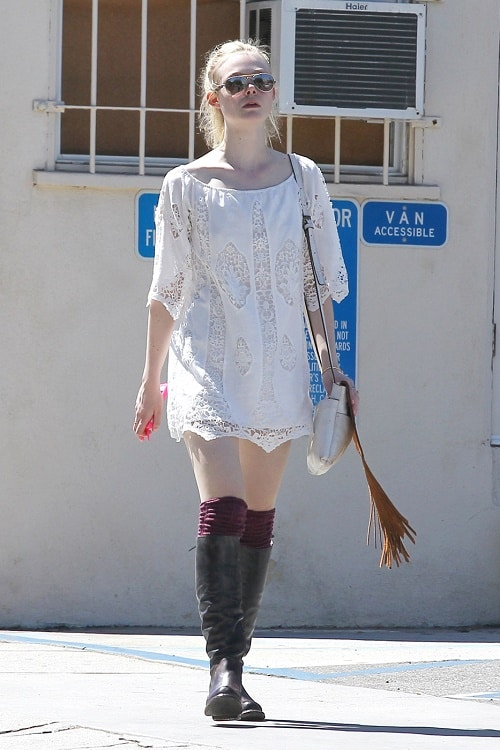A Week in Her Style: Elle Fanning - College Fashi