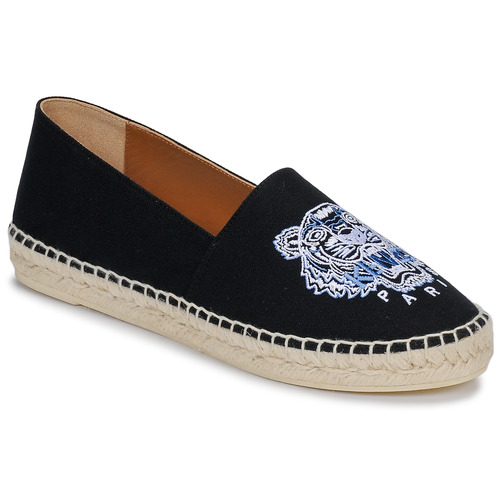 Kenzo CLASSIC ESPADRILLES Black - Free delivery | Spartoo NET .