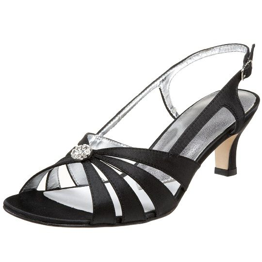 Cute designer low heel evening shoes for women | Evening shoes low .