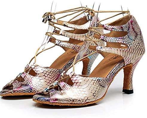 Amazon.com | NCHEOI Dance Shoes Ladies Evening Shoes for Women .
