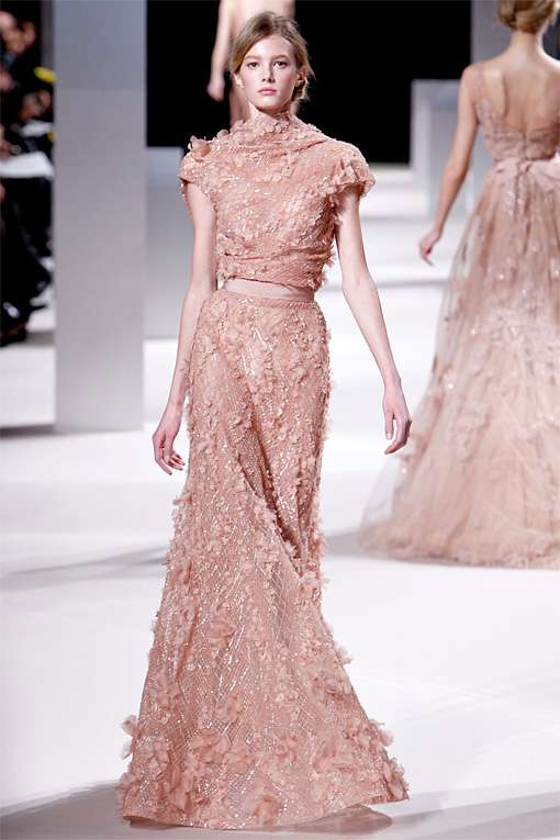 Exquisitely Embellished Evening Wear : Elie Saab SS11 Coutu