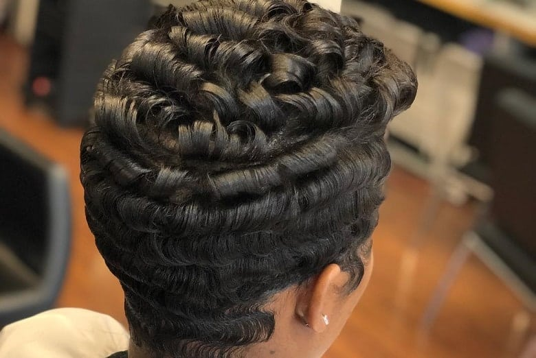 6 Finger Waves Hairstyles for Black Women to Rock – HairstyleCa