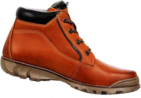 Amazon.com   Discovery EXPEDITION Men's Outdoor Leather Boots .