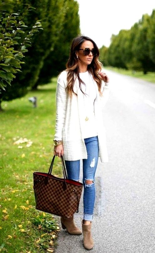Best 40 Women Fashion Casual Outfit For Fall Season | Casual style .