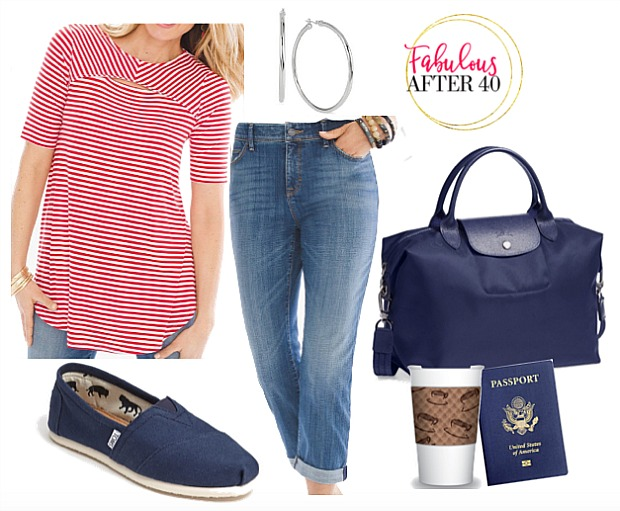 What to wear travelling on a plane | How To Travel In Sty