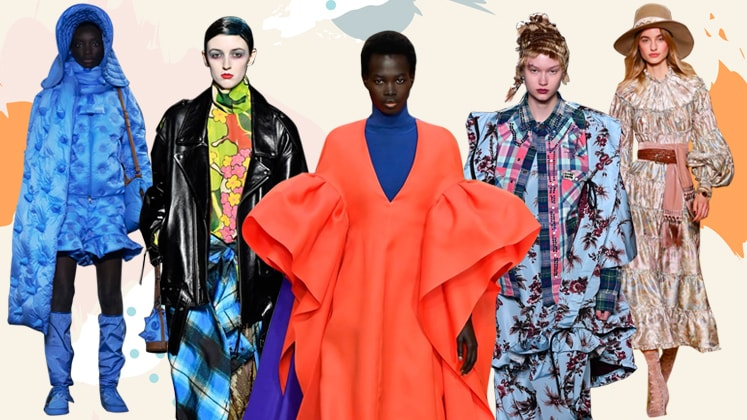 Trend report: Shifts in global prints and colour trends during .