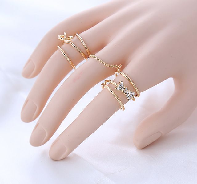 Fashionable rings – fashiondiys.com in 2020 | Fashion rings, Multi .