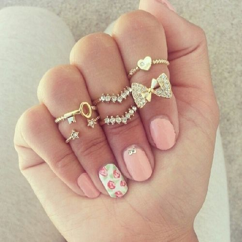 Fashionable rings